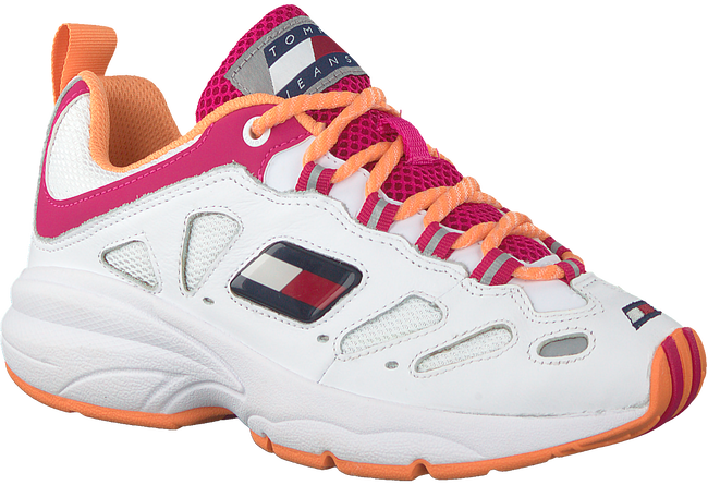 Witte TOMMY HILFIGER Lage sneakers HERITAGE RETRO WMN  - large