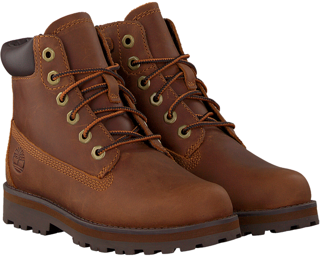Cognac TIMBERLAND Veterboots COURMA KID TRADITIONAL 6 INCH  - large