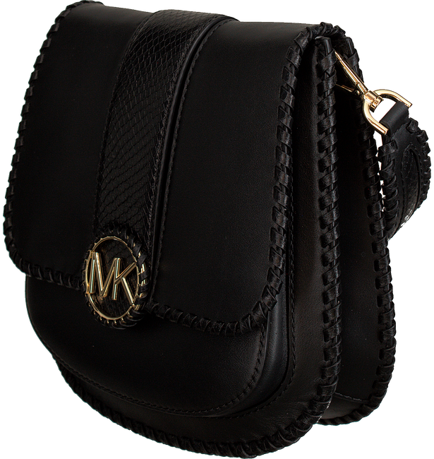Zwarte MICHAEL KORS Schoudertas LILLIE MD FLAP MESSENGER - large