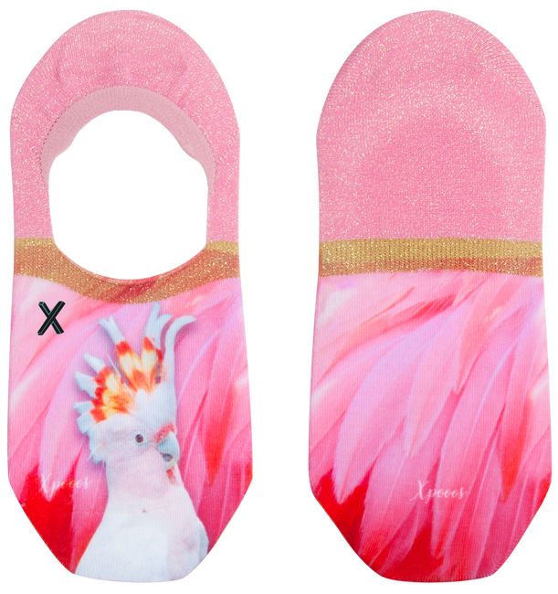 Roze XPOOOS Sokken IVY PARROT INVISIBLE - large