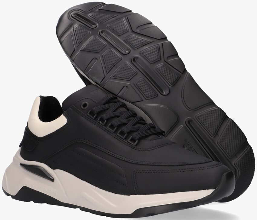 Zwarte NUBIKK Lage sneakers DUSK MALTAN  - larger