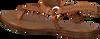 Cognac NOTRE-V Sandalen 443011 OYDsJDPm