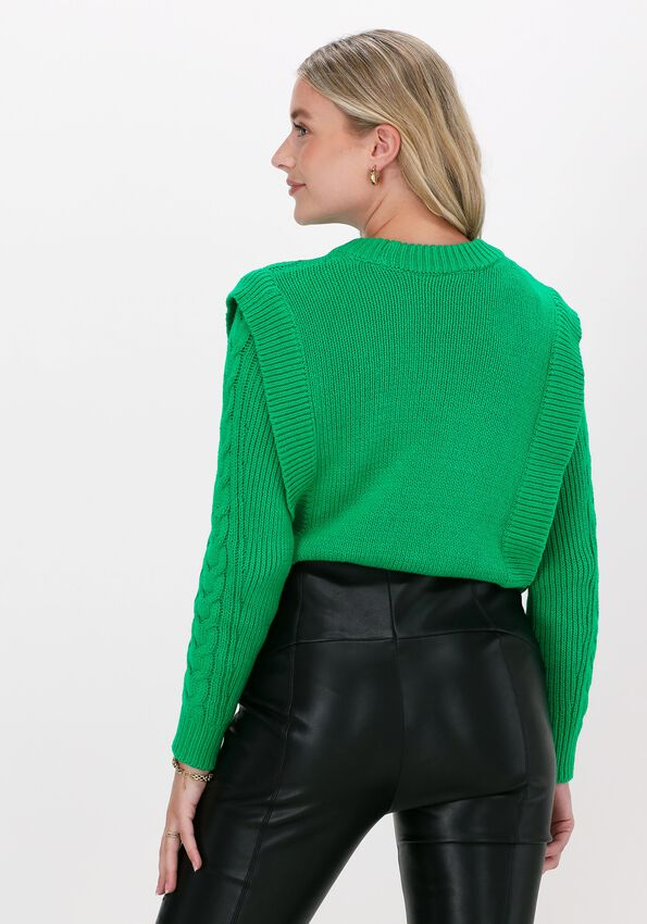 Groene Y.A.S. Trui YASGROW LS KNIT PULLOVER S.  - larger