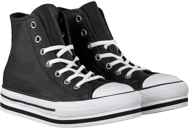Zwarte CONVERSE Sneakers ALL STAR PLATFORM EVA-HI-  - large