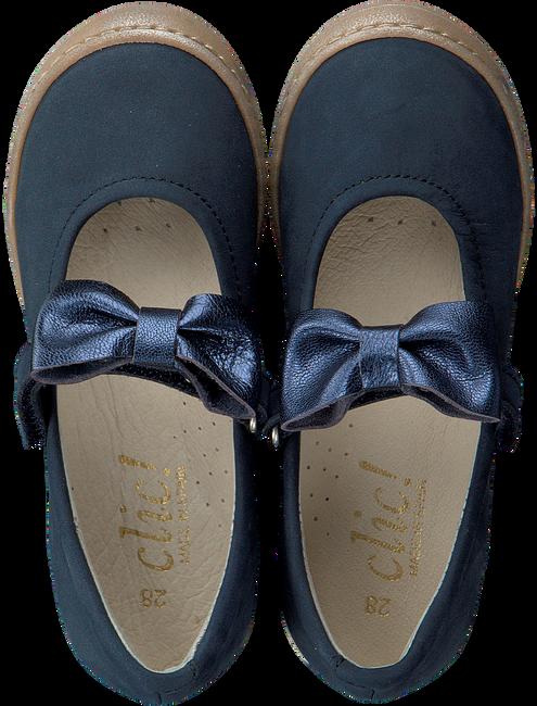 Blauwe CLIC! Ballerina's 9138  - large