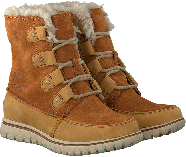 Camel SOREL Enkelboots COZY JOAN  - large