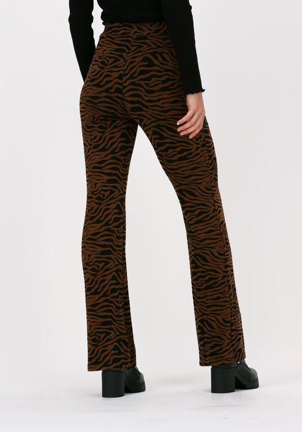 Bruine MODSTRÖM Pantalon MING PANTS - larger