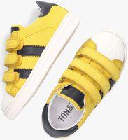 Gele TON & TON Lage sneakers E1835-212  - medium