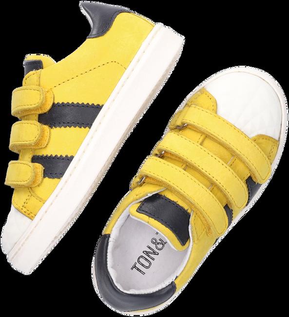 Gele TON & TON Lage sneakers E1835-212  - large