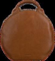 Bruine MYOMY Rugtas MY BOXY BAG COOKIE BACKBAG  - medium