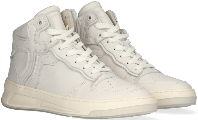 Witte BRONX Hoge sneaker OLD-COSMO 47325  - large