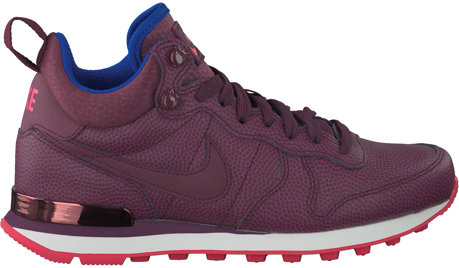 Rode NIKE Sneakers INTERNATIONALIST MID DAMES | Omoda