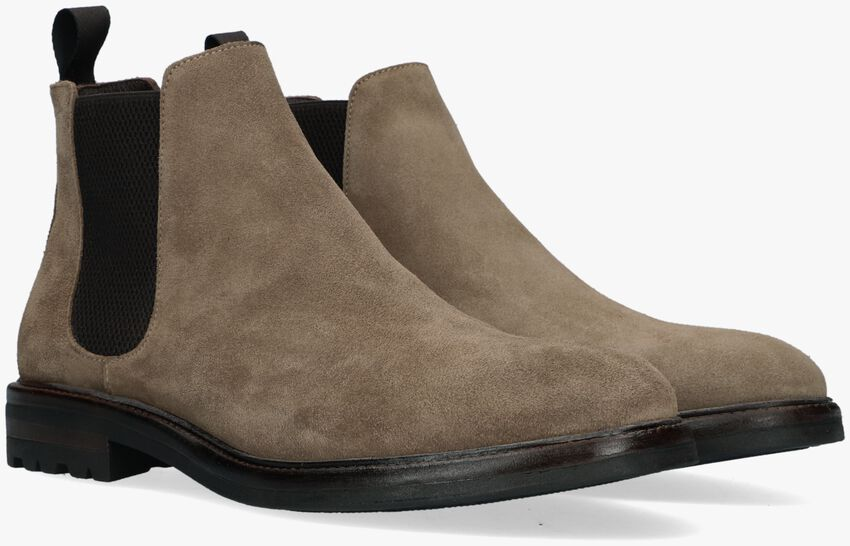 Taupe MAZZELTOV Chelsea boots 4146  - larger