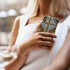 Groene IDEAL OF SWEDEN Telefoonhoesje FASHION CASE IPHONE X/XS - small