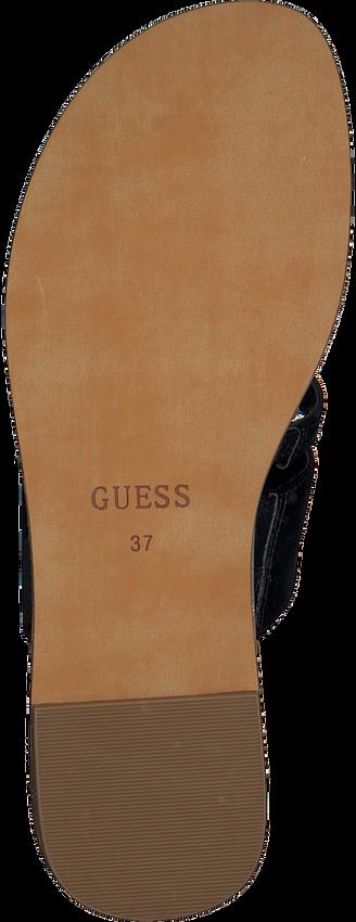 Zwarte GUESS Slippers GENERA  - larger