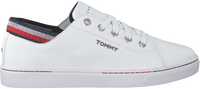 Witte TOMMY HILFIGER Lage sneakers GLITTER DETAIL CITY  - medium
