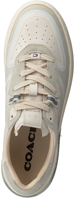 Witte COACH Lage sneakers ADB SUEDE-LEATHER COURT  - large