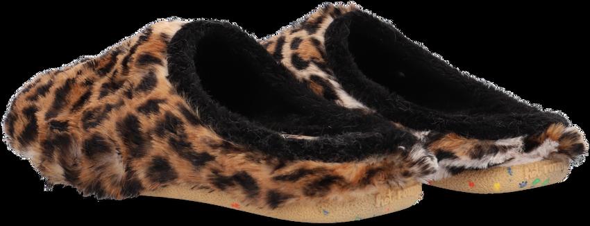 Beige HOT POTATOES Pantoffels ALINGSAS  - larger