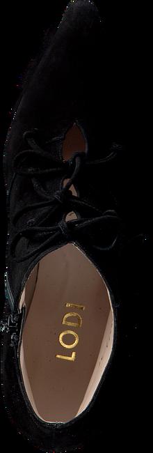 zwarte lodi enkellaarsjes mofede