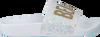 Witte THE WHITE BRAND Slippers GLITTER BEACH KIDS - small