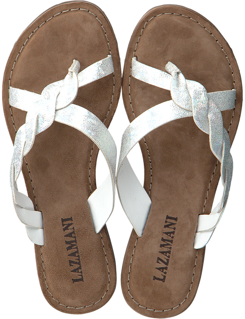 Zilveren LAZAMANI Slippers 75.283  - large