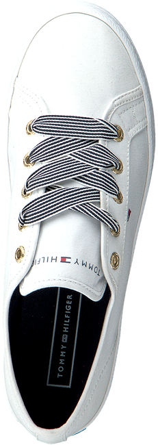 Witte TOMMY HILFIGER Lage sneakers ESSENTIAL NAUTICAL  - large
