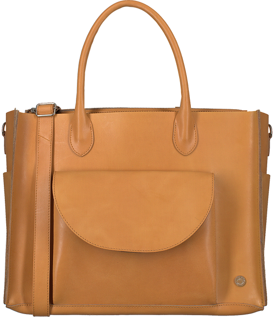 Cognac MEREL BY FREDERIEK Handtas KATE BAG - large