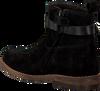 Zwarte CLIC! Enkellaarsjes 9201  - small