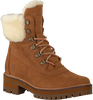 Cognac TIMBERLAND Veterboots COURMAYEUR VALLEY SHEARLING - small