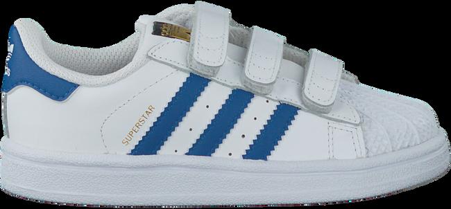 Witte ADIDAS Sneakers SUPERSTAR CF  - large