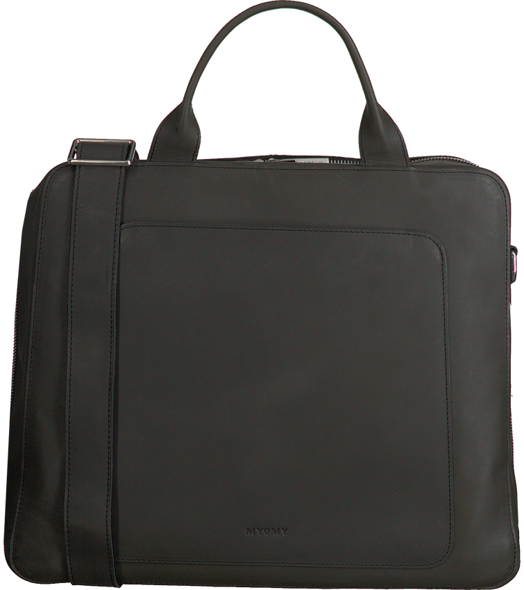 Zwarte MYOMY Laptoptas MY LOCKER BAG BUSINESS  - larger