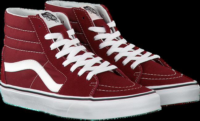 Rode VANS Sneakers SK8-HI HEREN  - large