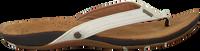 Witte REEF Slippers MISS J-BAY - medium