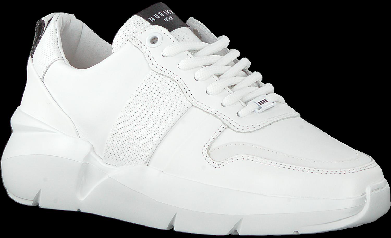 Witte NUBIKK Lage sneakers LUCY MAY | Omoda