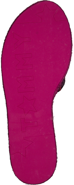 Roze TOMMY HILFIGER Slippers METALLIC FLAT MULE - large