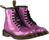 Roze DR MARTENS Veterboots 1460 GLITTER T/J - small
