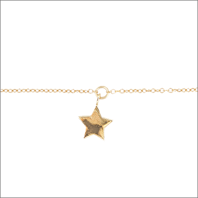 Gouden ALLTHELUCKINTHEWORLD Armband FORTUNE BRACELET STAR - large