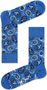 Blauwe HAPPY SOCKS Sokken PAI01 - small
