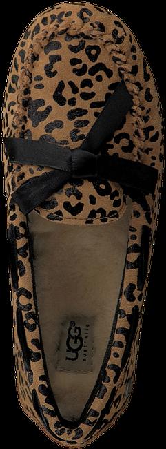 Bruine UGG Ballerina's RYDER LEOPARD  - large