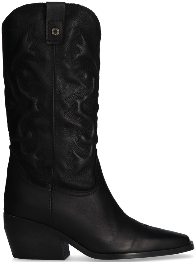 Zwarte NOTRE-V Lange Laarzen AL330 - larger