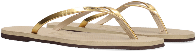 Beige HAVAIANAS Slippers YOU METALLIC  - large