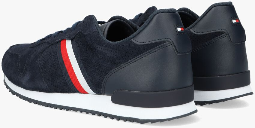 Blauwe TOMMY HILFIGER Lage sneakers ICONIC SUEDE  - larger