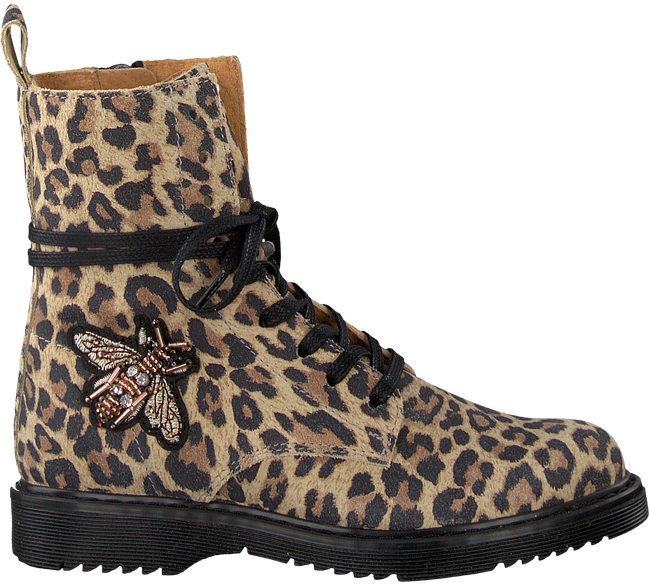STUDIO MAISON VETERBOOTS TEENS LEOPARD PATCH BOOTTEE - large