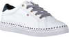 Witte TOMMY HILFIGER Lage sneakers NAUTICAL LACE UP  - small