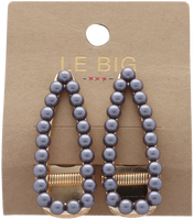 Zilveren LE BIG Haarband TOLEEN HAIRCLIPS  - medium