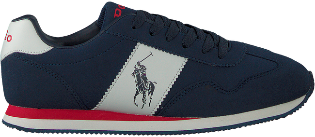 Blauwe POLO RALPH LAUREN Lage sneakers BIG PONY JOGGER  - large