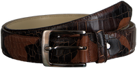 Bruine REHAB Riem BELT  CROCO ARMY W18 - medium