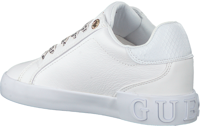 Witte GUESS Lage sneakers PUXLY  - large
