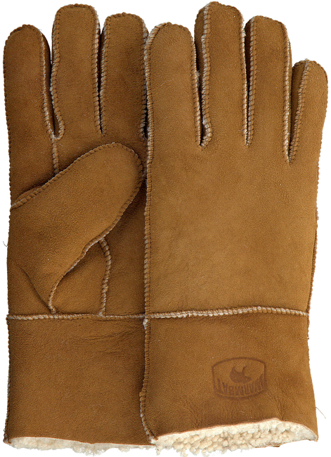 Cognac WARMBAT Handschoenen GLOVES WOMEN  - large
