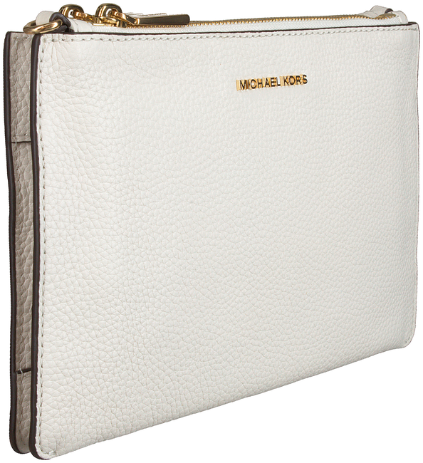 Witte MICHAEL KORS Schoudertas LG DBL POUCH XBODY  - large